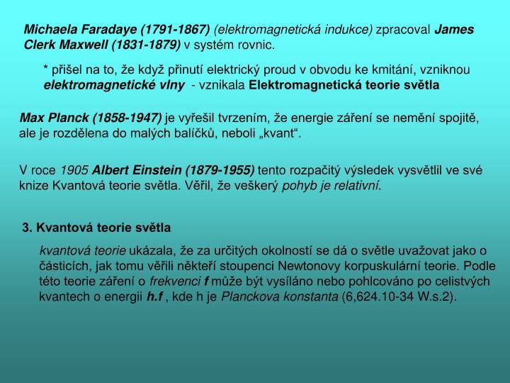 Michaela Faradaye (1791-1867)