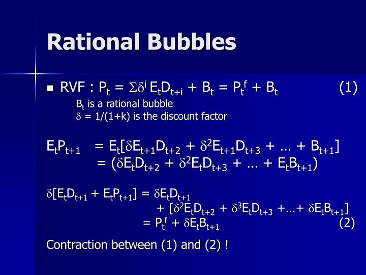 Rational Bubbles