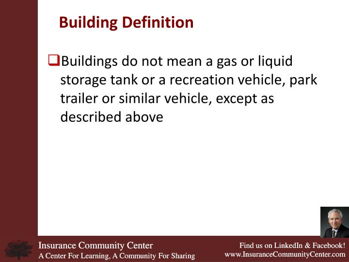 Building Definition