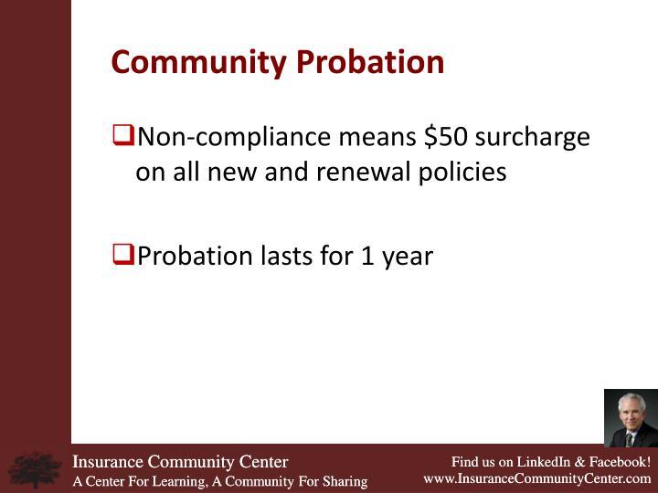 Community Probation