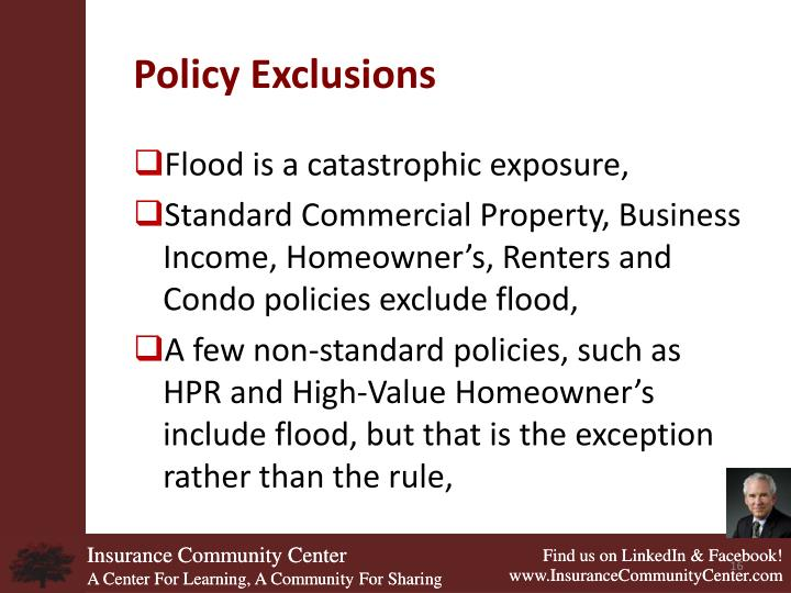 Policy Exclusions