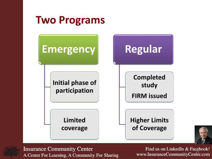 Two Programs