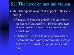 s2 tr invoelen met individuen