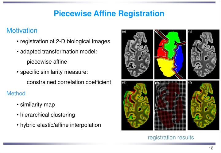 Piecewise Affine Registration