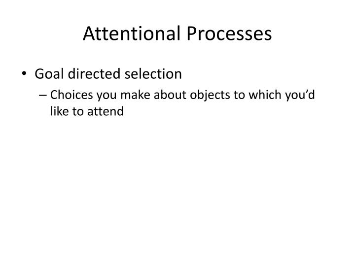 Attentional