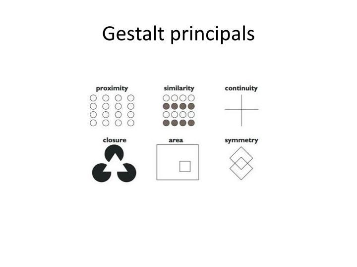 Gestalt principals