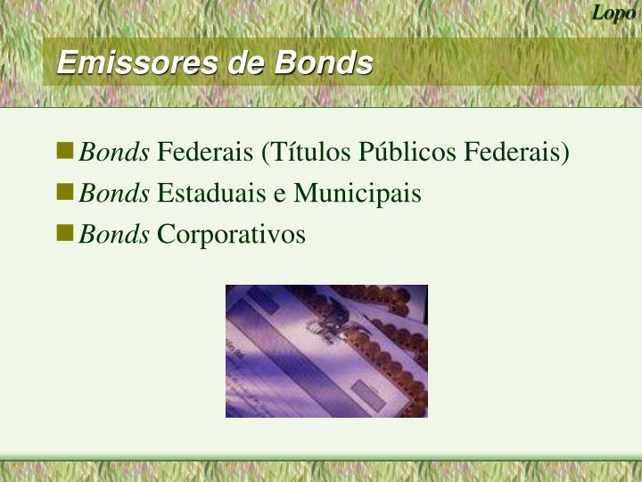 Emissores de Bonds