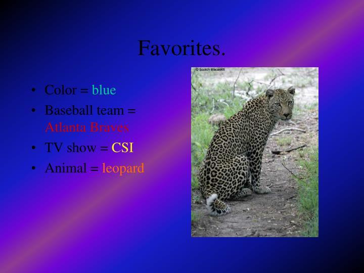 Color =