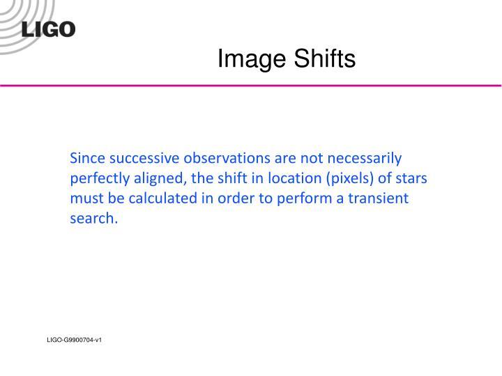 Image Shifts