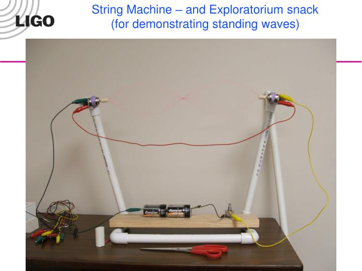 String Machine – and Exploratorium snack