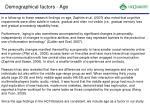 demographical factors age1