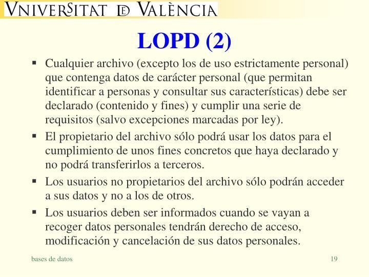 LOPD (2)