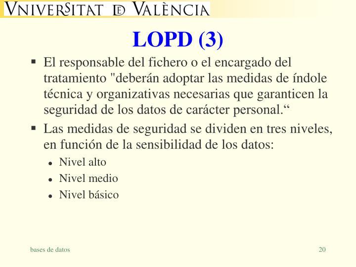 LOPD (3)