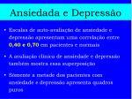 ansiedada e depress o
