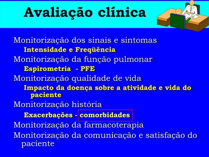 Avaliação clínica