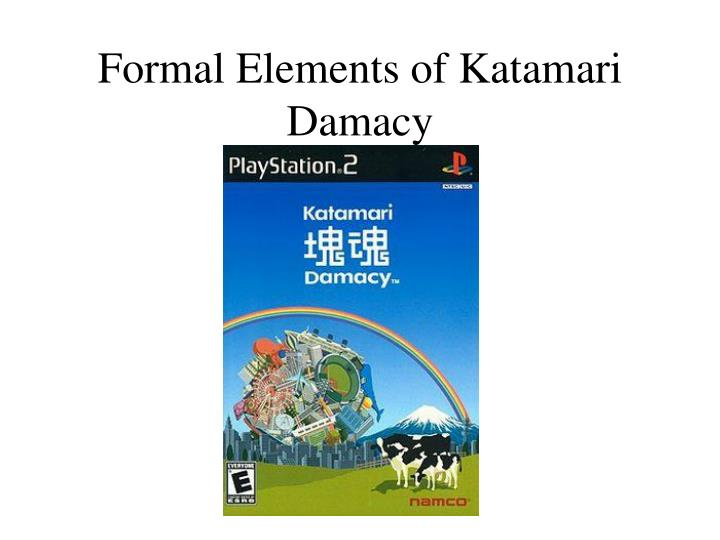 Formal Elements of Katamari Damacy