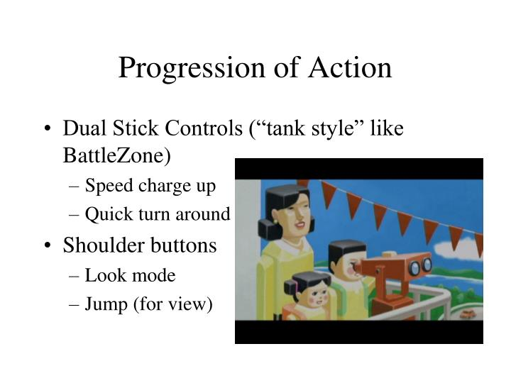 Progression of Action