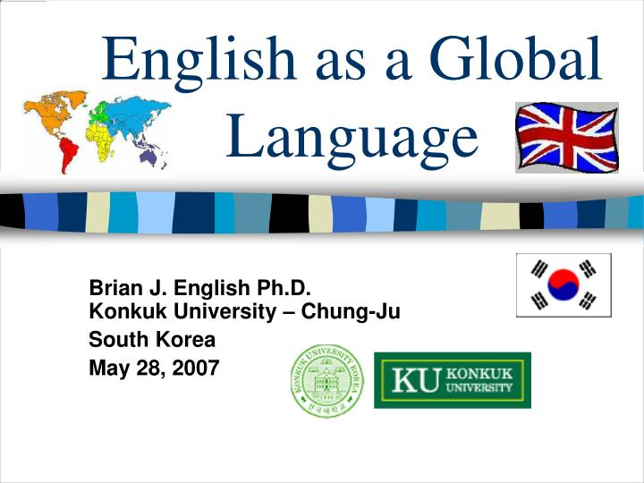 essay about english as a global language