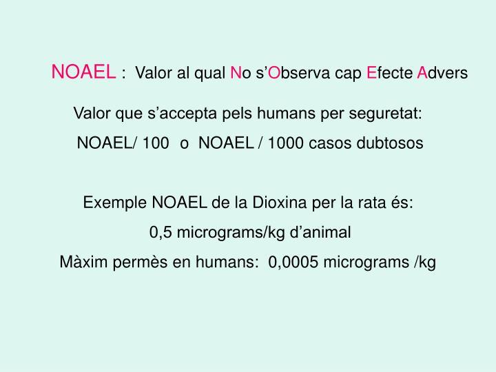 NOAEL