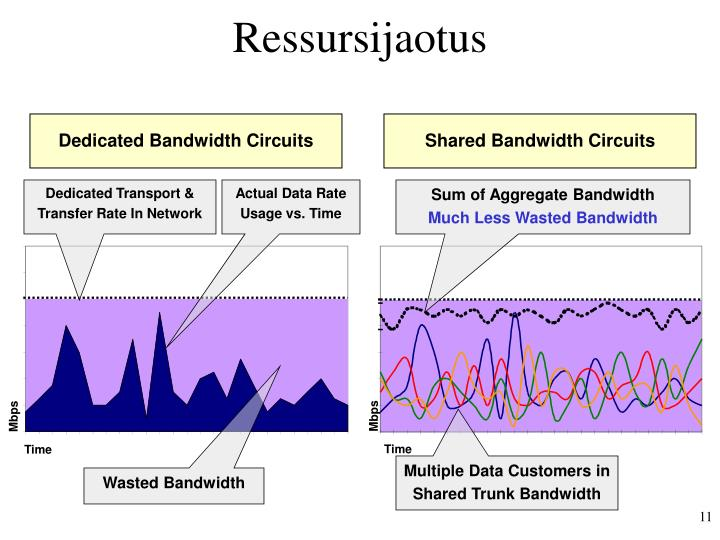 Dedicated Bandwidth Circuits
