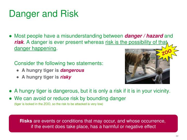 Danger and Risk
