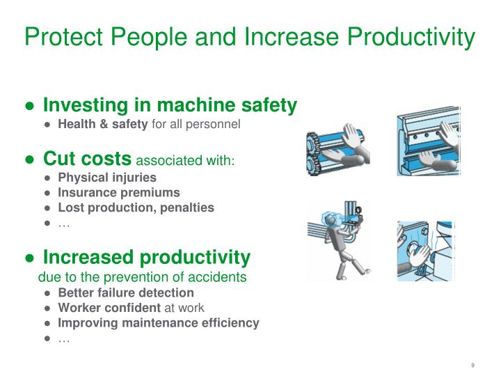 Protect People and Increase Productivity