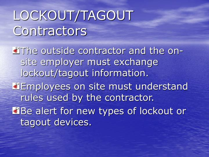 Lockout tagout contractors