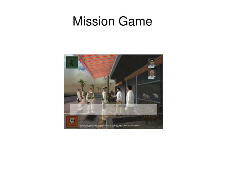 Mission Game