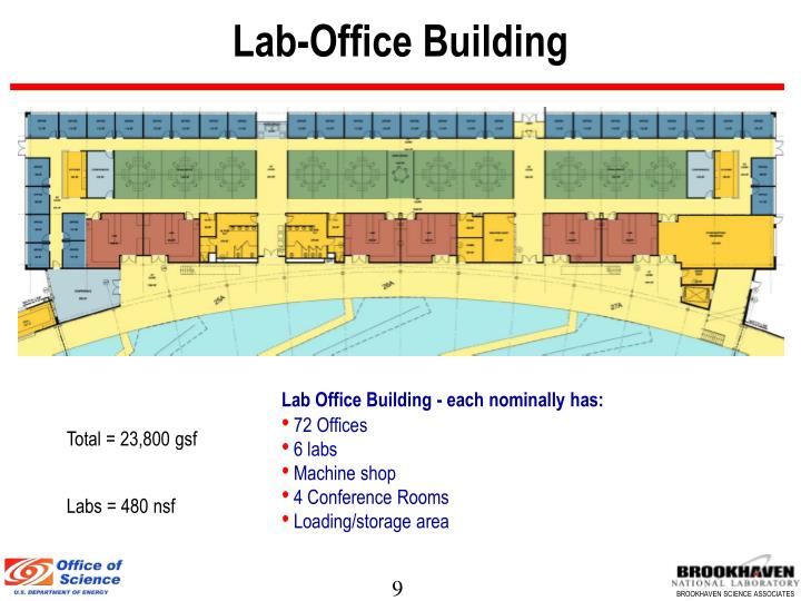 Lab-Office Building