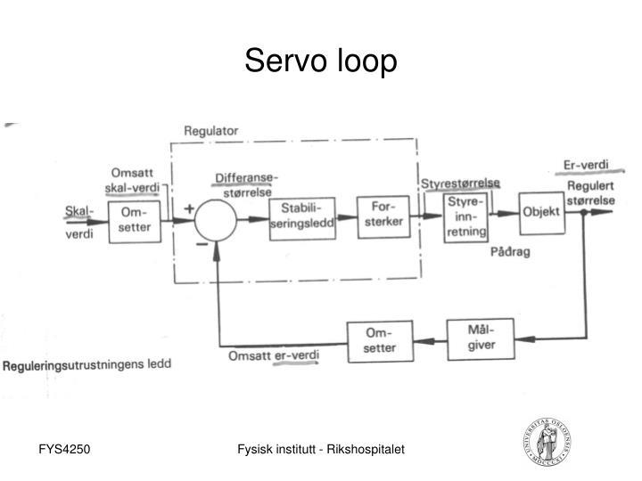 Servo loop