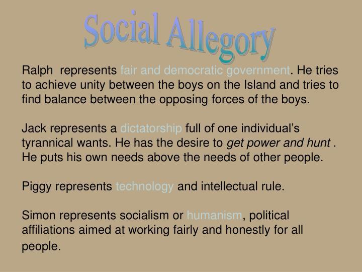 Social Allegory