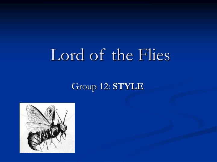 lord of the flies an analysis View lord of the flies research papers on academiaedu for free.