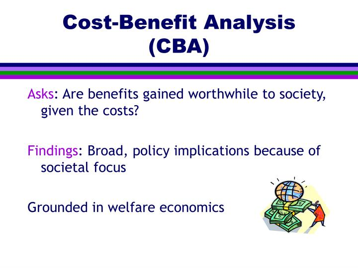 Cost-Benefit Analysis (CBA)
