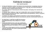 k thibrid rendszer two hybrid system