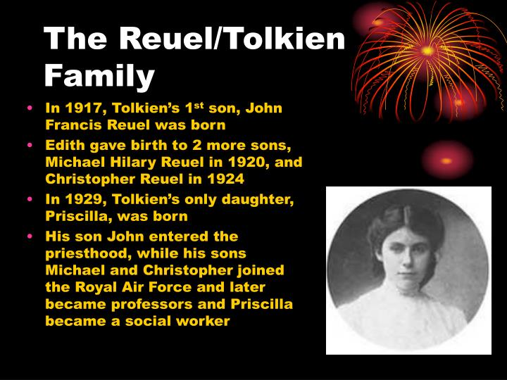 The Reuel/Tolkien Family
