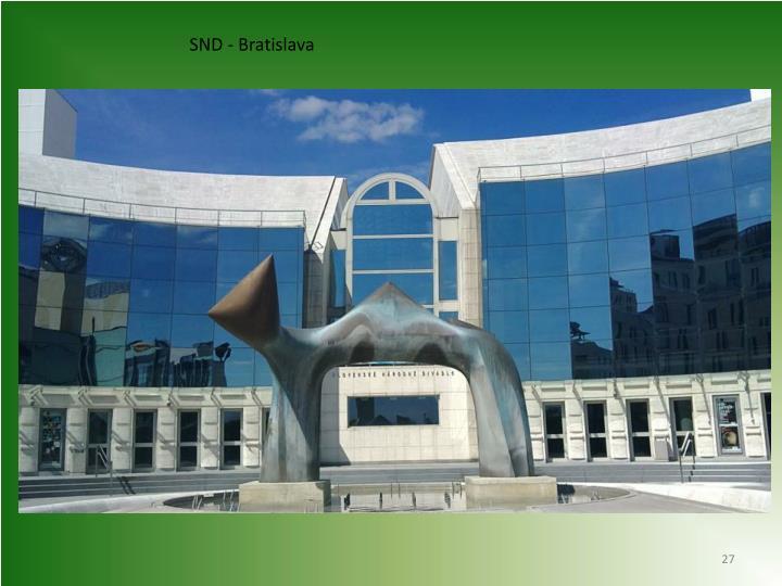 SND - Bratislava