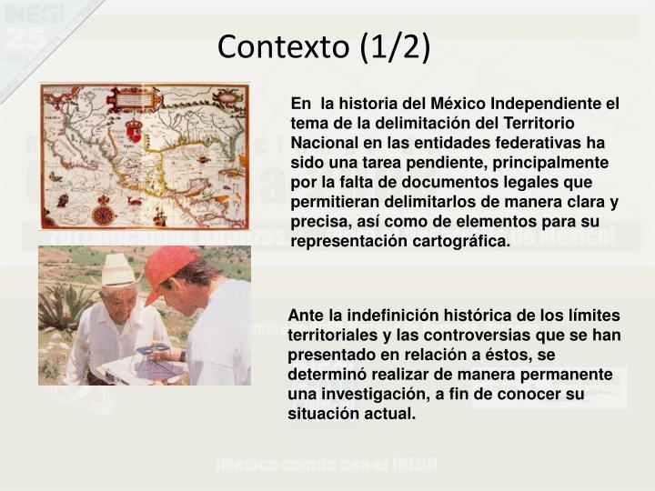 Contexto (1/2)