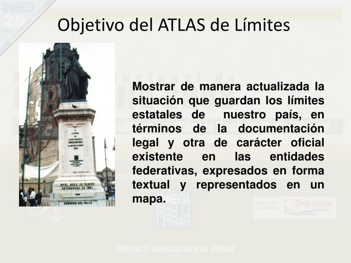 Objetivo del ATLAS de Límites
