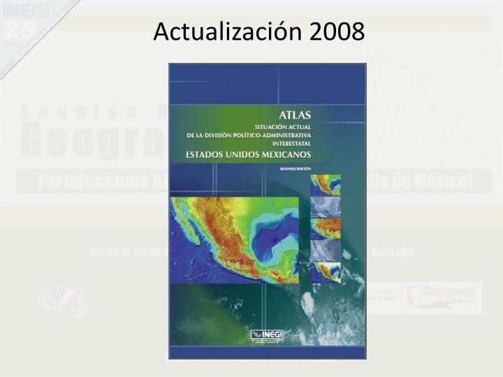 Actualización 2008