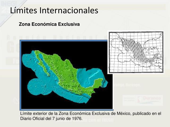 Límites Internacionales