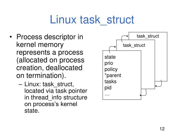 Linux task_struct