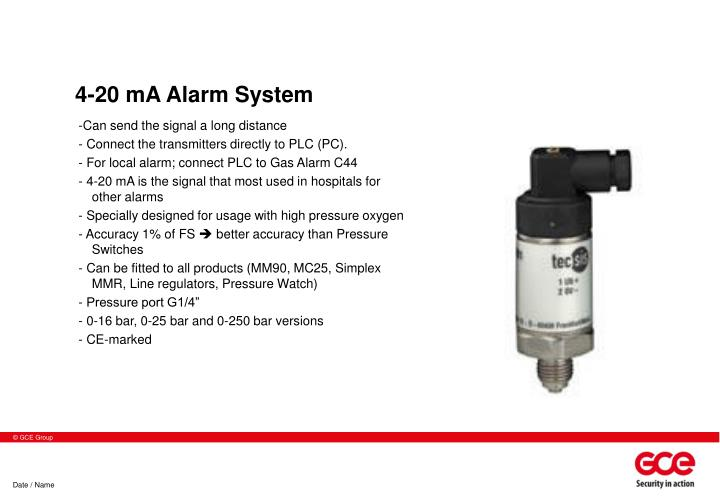 4-20 mA Alarm System