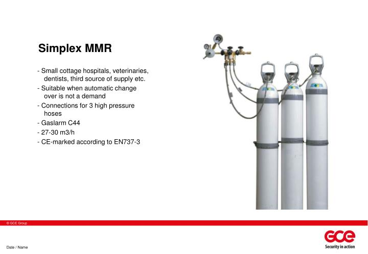 Simplex MMR