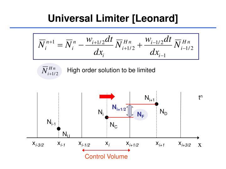 Universal Limiter [Leonard]