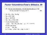 factor volum tricototal o bif sico bt