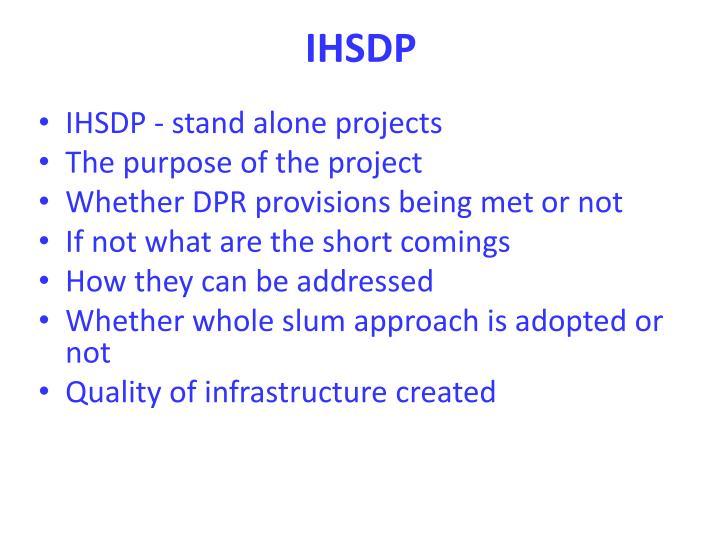 IHSDP