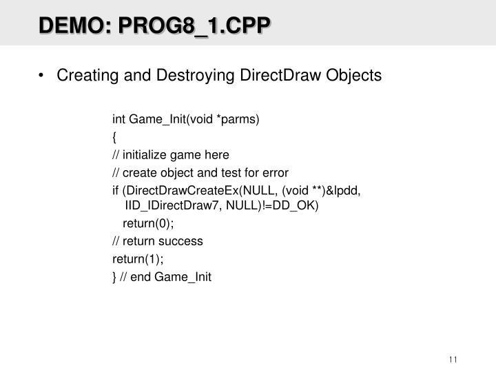 DEMO: PROG8_1.CPP