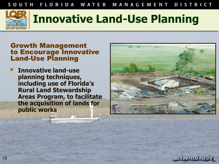 Innovative Land-Use Planning