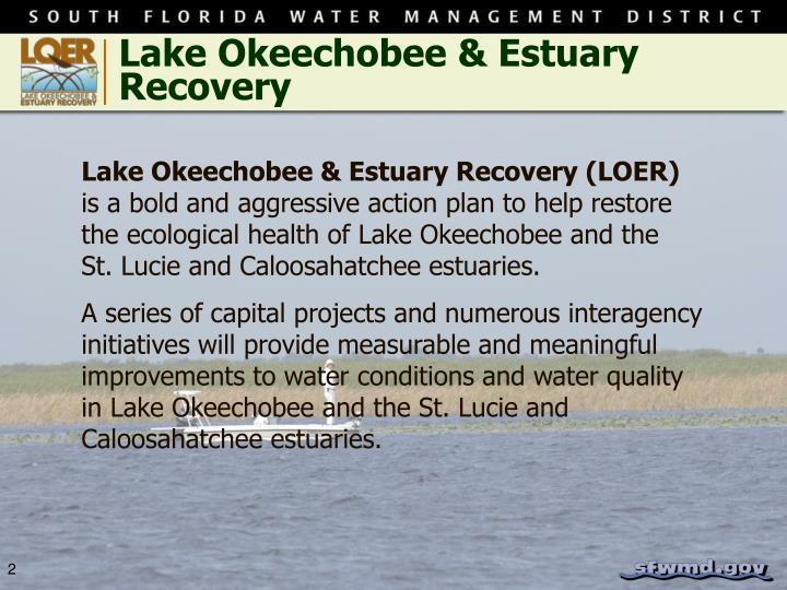 Lake Okeechobee & Estuary Recovery