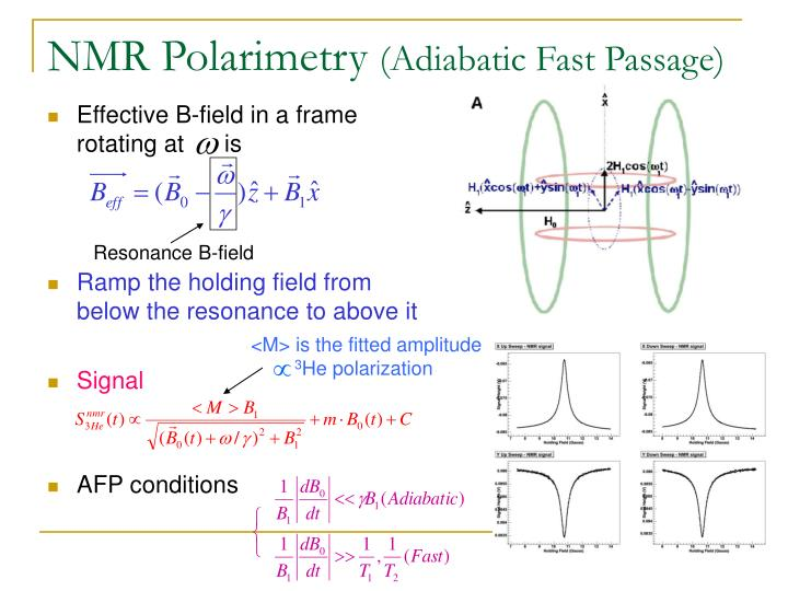 NMR Polarimetry